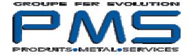 LOGO PMS produits métal services